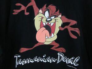 Tasmanian Devil Taz Looney Tunes Mens T Shirt Size XL Crew Vintage Rare 2001