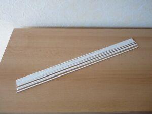 10 Stäbe Silberlot Hartlot Ø 2 x 500 mm, für Kupfer mit Flussmittel ummantelt