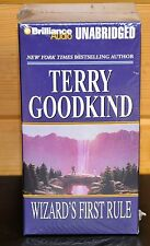 WIZARD'S FIRST RULE by Terry Goodkind UNABRIDGED 20 cassettes 31 hrs NEW/Sealed