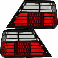 Set luci posteriori Mercedes w124 85-95 Berlina Coupe Cabrio Rosso Nero Smoke