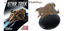 Eaglemoss Diecast Star Trek Lokirrim Warship #113 with Magazine