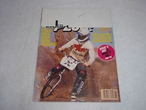 VINTAGE ORIGINAL BMX PLUS! JUNE 1992 MAGAZINE VOLUME 15, NO. 6