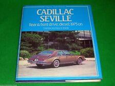 Cadillac Seville 1975 on Thomas Falconer Osprey AutoHistory 1st ed HB