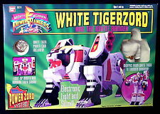 Morphin Power Rangers White Tigerzord with White Ranger 2271 MIB Bandai 1994