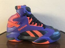 Reebok Pump Shaq Attaq Phoenix Suns Basketball Sneakers V61029 Men s Size  8.5 fec612309