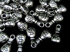 40 Pcs - Acrylic CCB Money Bag Charms 20mm Craft Jewellery Making Beading P153