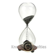 Magnetic Sand Timer Time Hourglass Desk Kitchen Office Decor Fun Timing Magnets