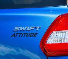 SUZUKI SWIFT ATTITUDE 2019-on GENUINE PART- Rear CARBON Badge Emblem Decal - NEW