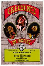 Creedence Clearwater at Shreveport Louisana Poster 1971  Wide Format  24x36