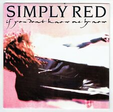"""SIMPLY RED Vinyle 45T SP 7"""" IF YOU DON'T KNOW - MOVE ON OUT -WEA 246993 F Reduit"""