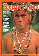 Grands Reportages - N°16 - Nov 1980 - Dom-tom Tibet Deserts du monde Austalie La
