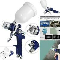 HOT HVLP Air Spray Gun Auto Paint Car Detail Coat Up Repair Gravity B O8P7.