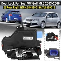 Right Rear Door Lock Actuator Mechanism For VW Golf Mk5 Jetta Mk3 Touareg Touran