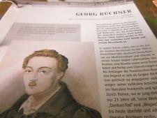 Deutsche Geschichte 1795-1914 Georg Büchner Schriftsteller 1813-1837