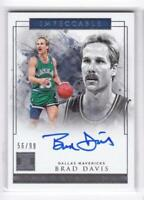 2018-19 Brad Davis /99 Auto Panini Impeccable Immortal INK Autographs