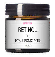 Retinol + Hyaluronic Acid & Vitamin A C E Anti-Aging Wrinkle GEL-CREAM Serum