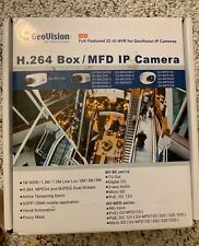 GeoVision GV-IPCAM H. 264 GV-BX110D  1.3M, D/N Box IP without lens.