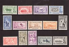 FALKLAND ISLANDS 1952 Set very lightly hinged.