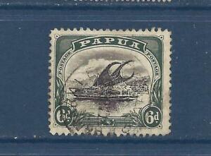 PAPUA NEW GUINEA - 32 - USED - 1907 - LAKATOI SAILING VESSEL