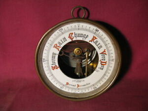 A 19th C Victorian Copper Cased Barometer by Short & Mason Ltd