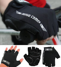 Summer Cycling Fingerless Gloves Mountain Bike Road Mesh Back Padded Palm Racing