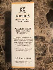 Kiehl's Powerful-Strength Line-Reducing Concentrate 2.5oz/ 75ml NIB