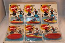 Corgi Toys SIX PACK DEALER BOX with 6x 67 Popeye + Olive Oyl Very scarce MIB