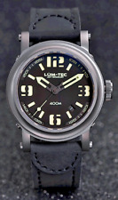 Lum-Tec Watch - ABYSS 400M - 400M-1 (42mm) Automatic Mens Black Strap & Stitch