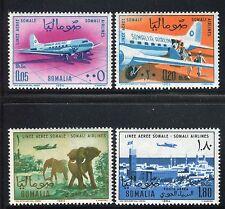 SOMALIA 1964 SOMALI AIR LINES/DC-3 PLANES/MOGADISHU/ELEPHANTS/SAVANA/ANIMALS