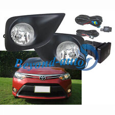 for Toyota Vios/Yaris Sedan 2013 2014 2015 2016 2017 Bumper Fog Lights Assembly