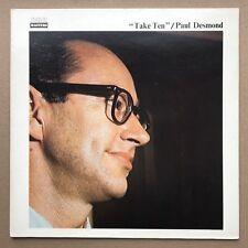 PAUL DESMOND - TAKE TEN LP superb