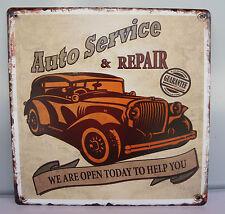 Blechschild Auto Service & Repair, Auto
