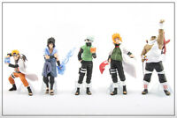 Naruto Shippuden 5pcs Action Figures Set Cake Toppers Party Toys Gift