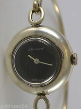 E. Bucherer Handaufzug / Vintage / Damenuhr /  835er Silber