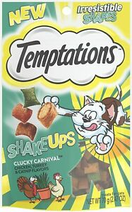 Temptations Shake Ups  Clucky Carnival Chicken,Turkey & Catnip Treats, 2.47Ounce