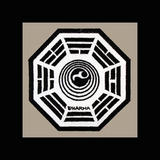 "LOST Dharma Initiative Embroidered patch ""Orchid"""