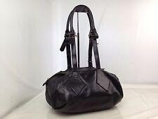 Auth Vivienne Westwood Shoulder Bag Boston bag leather black 7E160220S
