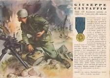 A981) WW2, GRECIA, M. O. CANTAFFIO DA GIMIGLIANO, 208 FANTERIA TARO. VIAGGIATA.
