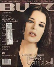 JAN 1998 BUZZ Los Angeles magazine - NEVE CAMPBELL