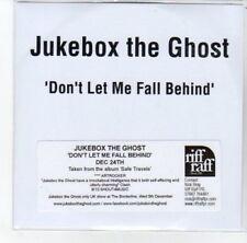 (DK29) Jukebox The Ghost, Don't Let Me Fall Behind - DJ CD