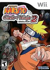 BRAND NEW SEALED WII -- Naruto: Clash of Ninja Revolution 2 (Nintendo Wii, 2008)