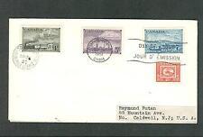 Canada First Day Cover Sc. 311 - 314 Combo - Fdc 1951 Centennial Postal Admin