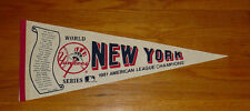 1981 New York Yankees pennant AL Champs World Series Reggie Jackson