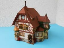 EXCELLENTLY DETAILED FALLER HO TOWN HALL ALLMANNSDORF n° 130427 ****** EXC