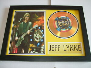 JEFF LYNNE   SIGNED  GOLD CD  DISC  NEW