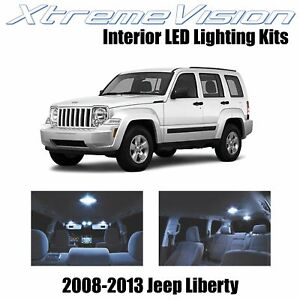 XtremeVision Interior LED for Jeep Liberty 2008-2013 (9 PCS) Cool White