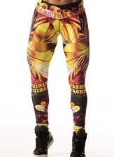Nwt! LFW Bruttal Collection Micro Fiber Sportwear Athletic Colombian Legging Gym
