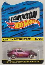 Hot Wheels 2017 Mexico Convention Custom Datsun 240Z Redline Real Riders 5/20