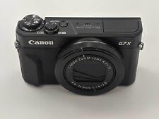 Open Box Canon PowerShot G7X Mark II 20.1MP F/1.8-2.8 Digital Camera -J8597