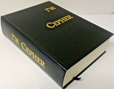 ETH CEPHER - Divine Book - Bible - Leather Hardcover- Sacred Scriptures 3RD ED.